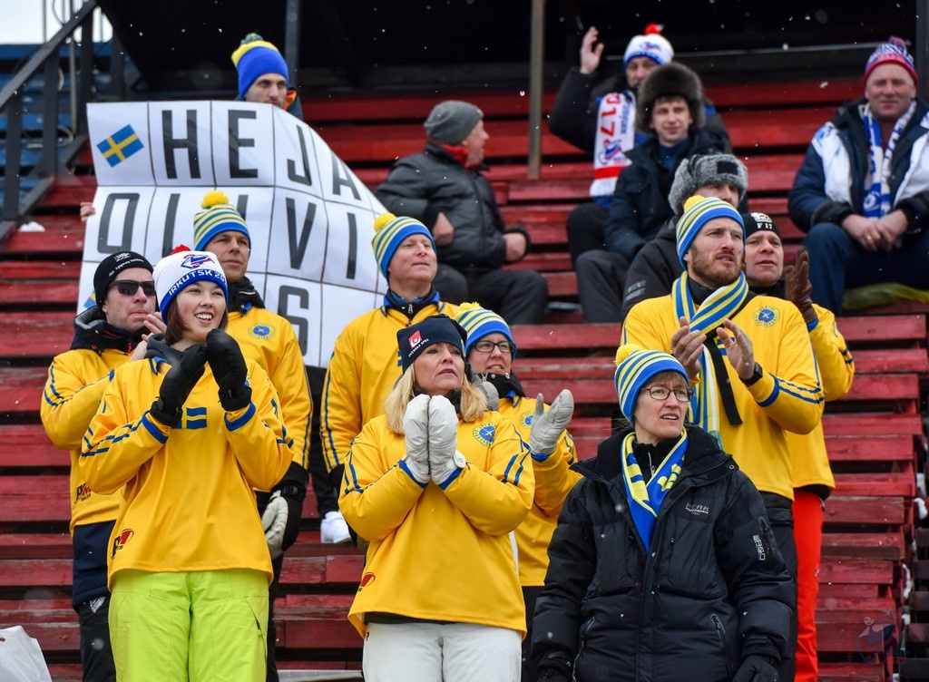 The Swedes have become the first to step into the Final